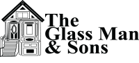 The Glass Man & Sons Logo