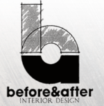 Before and After Interior Design Logo